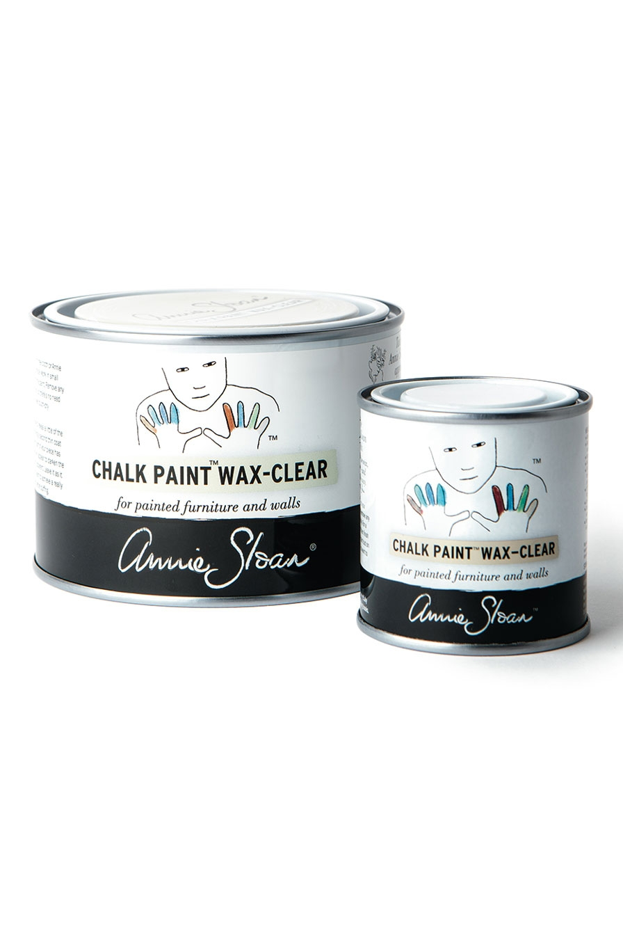 Clear Chalk Paint 174 Wax The Flower Shoppe